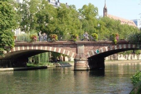 Brücke in Strassburg